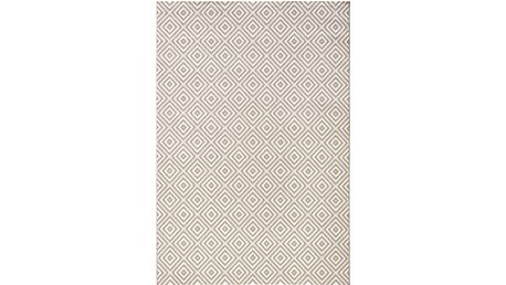 Šedý koberec Bougari vhodný i na ven Karo, 160x230 cm - doprava zdarma!