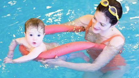 Plavání rodičů s dětmi od 6 měsíců do 3 let