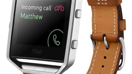 Náhradní pásek z umělé kůže pro hodinky Fitbit Blaze bez rámečku