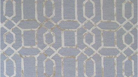 Modrý koberec Bakero Vegas, 122x183cm - doprava zdarma!