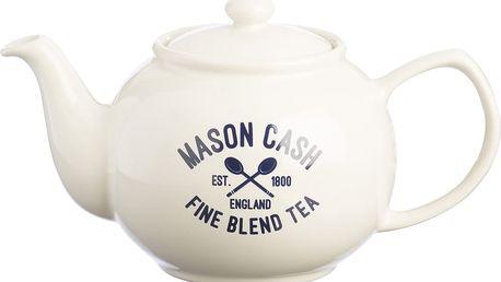 Bílá konvice na čaj Varsity