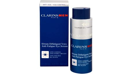 Clarins Oční sérum proti váčkům a kruhům pod očima pro muže Men (Anti-Fatique Eye Serum)20 ml