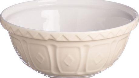Kameninová mísa Cream, 29 cm