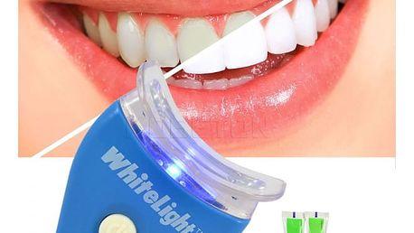Sada na bělení zubů LED světlem