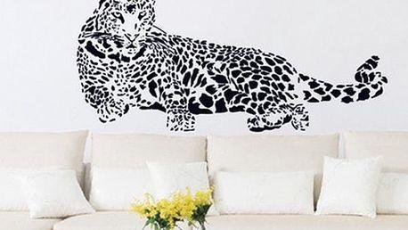 Samolepka na zeď - leopard