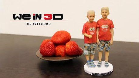 Vlastní 3D postavička v různých velikostech