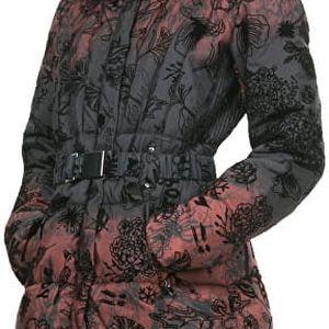 Desigual Dámský kabát Navarra Rojo Tierra 67E29K5 3030 36 + doprava zdarma