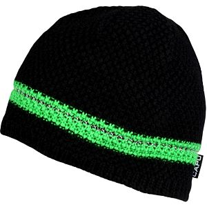 CAPU Zimní čepice Black/Green 661-A