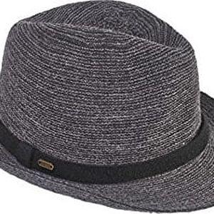 Brekka Pánský klobouk Bycicle Fedora BRF16K354-BLK 58