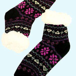 Zdravotní maxi hřejivé domácí ponožky