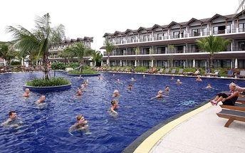 Thajsko - Phuket na 8 až 10 dní, snídaně s dopravou letecky z Prahy