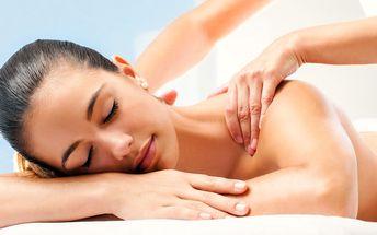60minutová sportovní či rekondiční masáž těla