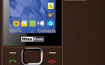 Maxcom MM141, Dual Sim, hnědá - MM141BR