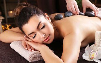Hřejivé uvolnění – masáž lávovými kameny