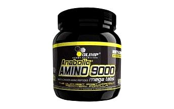 Anabolic Amino 9000, komplexní aminokyseliny, 300 kapslí, Olimp