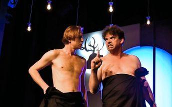 Vstup na divadelní představení Dva nahatý chlapi