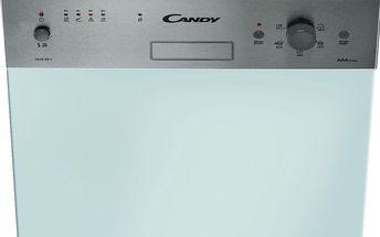 Vestavné myčka nádobí s šířkou 45 cm a čelním panelem Candy CEDS 95 X/E-S