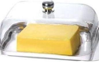 Dóza na máslo s akrylovým víkem nerez RENBERG RB-4057