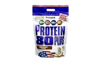 WEIDER Protein 80 Plus banán 2000 g
