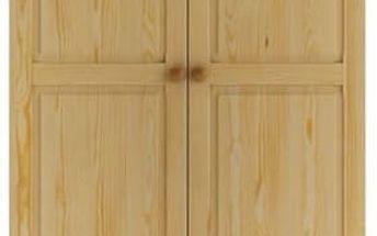 Dřevěná šatní skříň Tira