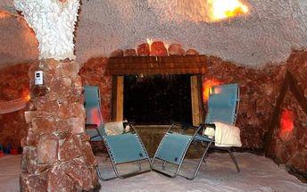 Léčivá solná jeskyně na 45 minut pro 1-2 osoby či permanentka na 5, 10 nebo až 15 vstupů