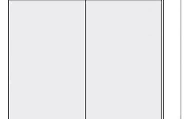 *TITANIUM, horní skříňka W3 80, korpus: grey
