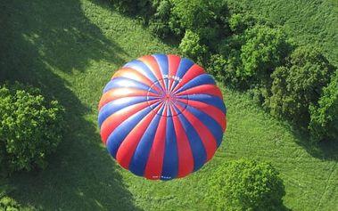 Vyhlídkový let balonem pro 1 či 2 osoby až na 2 hodin, s možností pikniku, desítky lokalit