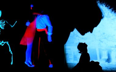 Černé a stínové divadlo v Praze