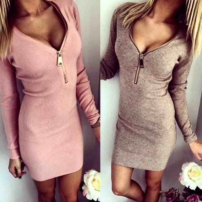 Luxusní dámské elastické šaty - 3 barvy