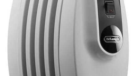 Olejový radiátor DeLonghi TRNS 0505 M bílý + Doprava zdarma