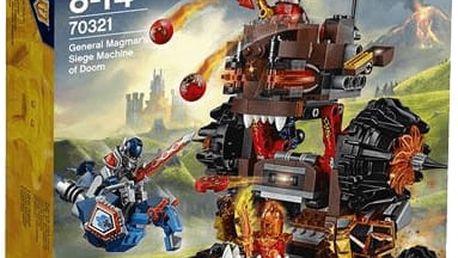 LEGO® Nexo Knights 70321 Obléhací stroj zkázy generála Magmara!