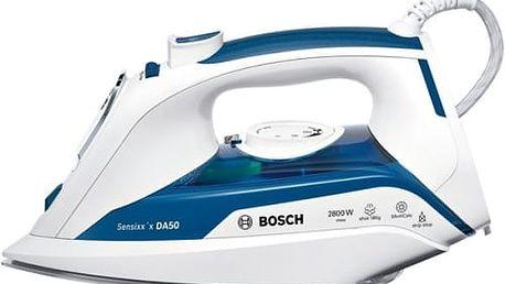Žehlička Bosch TDA5028010 bílá/modrá