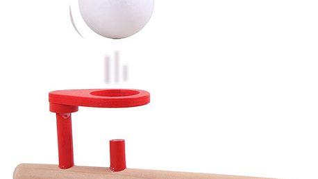 Foukací hračka s míčkem - dechové cvičení