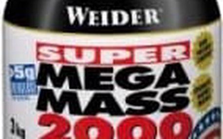 Super Mega Mass 2000, Gainer, Weider, 3000 g - Čokoláda