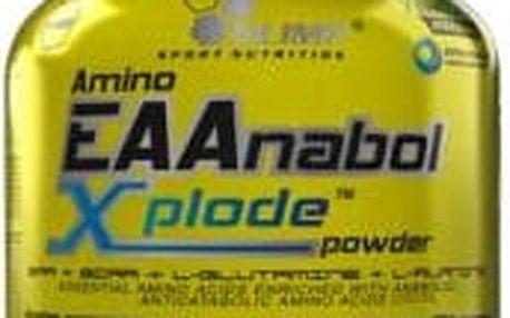 Amino EAAnabol Xplode, esenciální aminokyseliny, Olimp, 520 g - Pomeranč