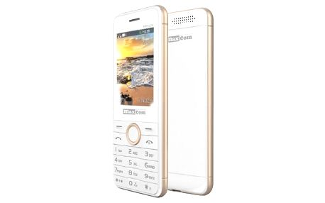 MAXCOM MM136 - White