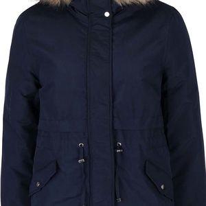 Tmavě modrá dámská bunda s kapucí Vero Moda Sabella