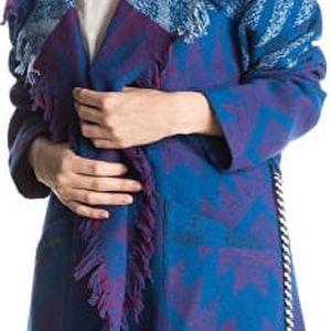 Roxy Dámský kabátek Santa J Jckt Outlands Palace Blue ERJJK03144-BMB6 M