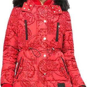Desigual Dámský kabát Marlene Borgoňa 67E29J2 3007 42
