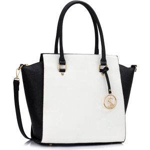 Dámská kabelka Meryl 364A černobílá