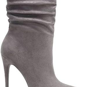 Dámské šedé kotníkové boty Balbara 5036