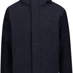 Tmavě modrá pánská bunda s kapucí Ragwear Eagle