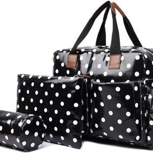 Dámská černá cestovní taška Estrell 1501