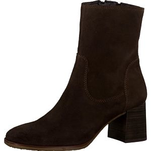 Tamaris Elegantní dámské kotníkové boty 1-1-25478-37 438 Chocolate 38
