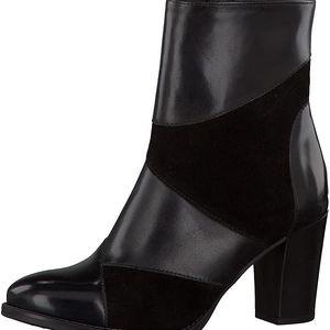 Tamaris Elegantní dámská zimní obuv 1-1-25025-37 035 Blk/blk brush 38