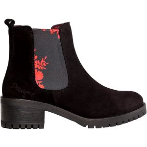 Desigual Dámské kotníkové boty Yolanda Charly Negro 67AS6B8 2000 37