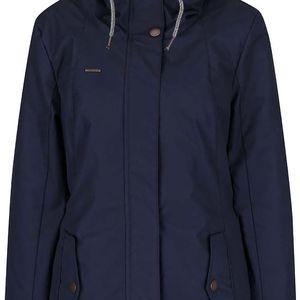 Tmavě modrá dámská bunda s kapucí Ragwear