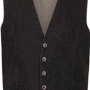 Zeleno-hnědá vesta Fynch-Hatton