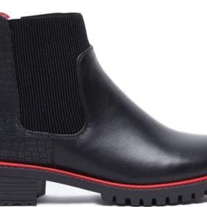 Dámské černé kotníkové boty Jeffersony 1107