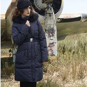 Biston-Splendid Dámská modrá bunda 36101076 S
